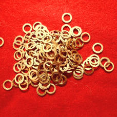 5mm Brass Solid Rings