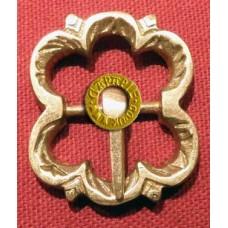 Brass Buckle Flower Design