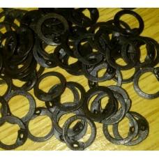 7mm Flat Ring Wedge Riveted Rings