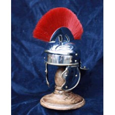 Miniature Roman Helmet with stand
